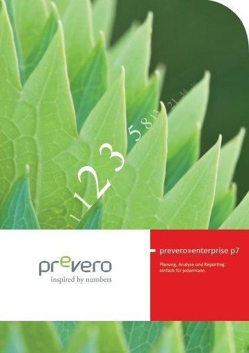 Broschüre prevero»enterprise p7