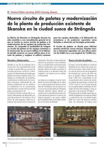 Nuevo circuito de paletas y modernización de la planta de ...
