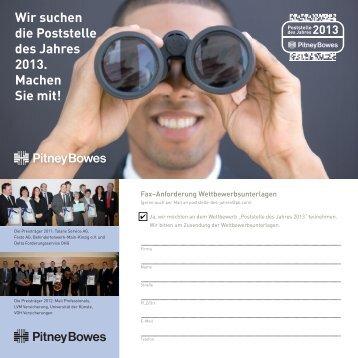 Info-Flyer / Anforderung Wettbewerbsunterlagen (Pdf)