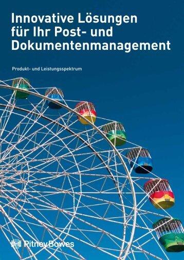 Unternehmens-Portfolio - Pitney Bowes Deutschland GmbH