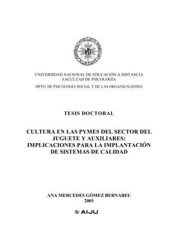 TESIS CULTURA ORGANIZACIONAL Y CALIDAD EN PYMES DEL ...