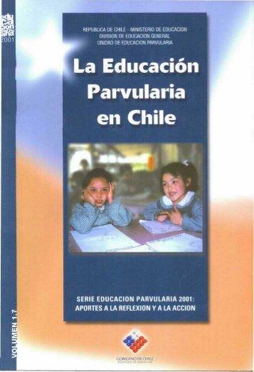 La Educación Parvularia en Chile - Educarchile
