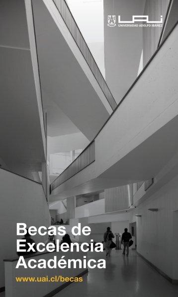 Becas de Excelencia Académica - Universidad Adolfo Ibáñez