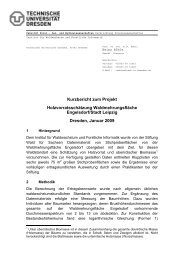 Kurzbericht zum Projekt Holzvorratsschätzung Waldmehrungsfläche ...