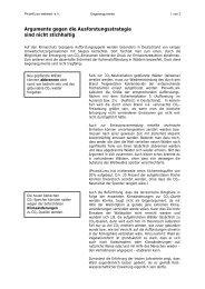 Argumente gegen die Ausforstungsstrategie - PRIMAKLIMA-weltweit ...