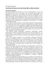 Karl Peter Hasenkamp - PRIMAKLIMA-weltweit-eV
