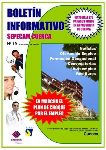 BOLETÍN INFORMATIVO - Empleo y Formación - Junta de ...