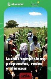 Luchas campesinas; propuestas, redes y alianzas - Mundubat