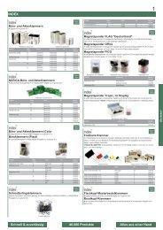 Alles aus einer Hand Schnell & zuverlässig 40.000 Produkte INDEX
