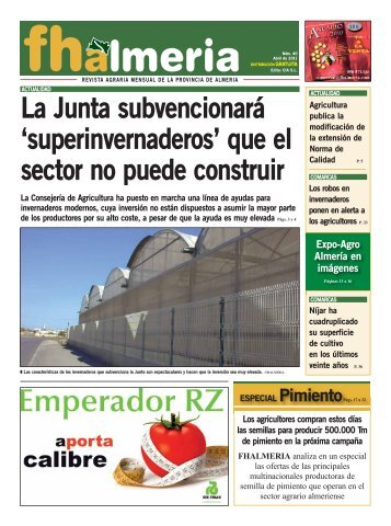 Abril 2011 - Frutas y Hortalizas de Almería