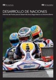desarrollo de naciones - FIA Institute for Motor Sport Safety and ...