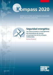 Seguridad energética - Bibliothek der Friedrich-Ebert-Stiftung