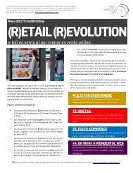 (R)ETAIL (R)EVOLUTION en PDF - Trendwatching