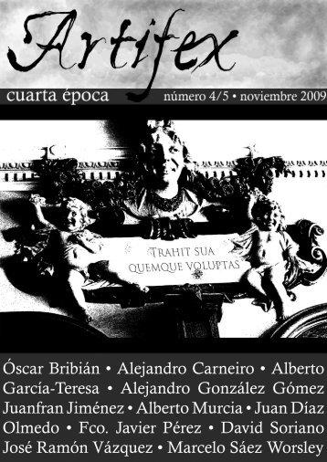 Óscar Bribián • Alejandro Carneiro • Alberto García-Teresa ...