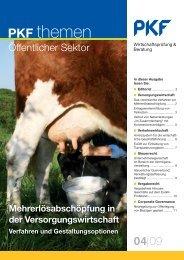 Heft 4 12/2009 Mehrerlösabschöpfung in der Versorgungswirtschaft
