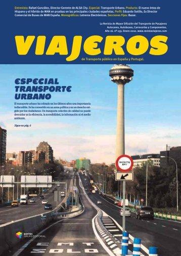 ESPECIAL TRANSPORTE URBANO - Revista Viajeros