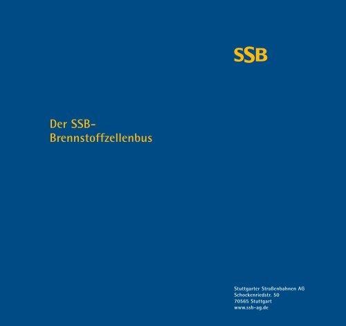 Der SSB- Brennstoffzellenbus - Mobilität 21