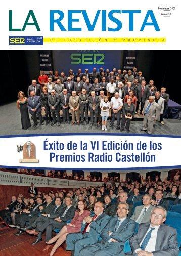 Éxito de la VI Edición de los Premios Radio ... - Radio Castellon