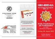 Gro-Rhei-Ka_Folder Prunksitzun - Prinzengarde Rheinbach