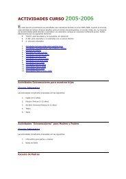 Informe detallado - Colegio Pío XII