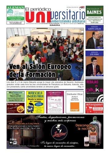 305 - Primera quincena de Marzo - El Periodico Universitario