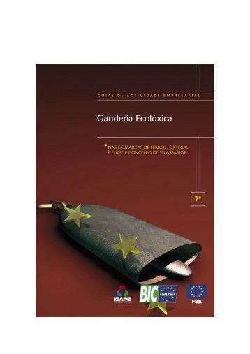 3. ¿Qué es la ganadería ecológica? - BIC Galicia