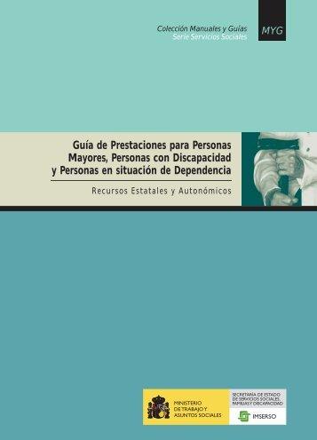 7 Guía de Prestaciones para Personas Mayores ... - Portal Mayores