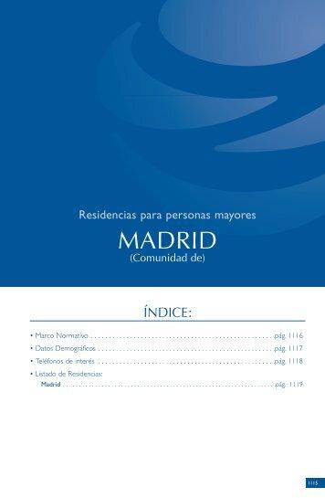 Residencias Para Personas Mayores MADRID - Salud
