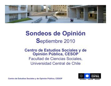 Vinculación con el Medio - Universidad Central de Chile