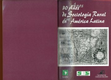 """Piñeiro, D. (comp.) """"30 años de Sociología Rural en América Latina""""."""