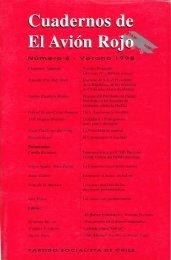 Cuadernos de El Avión Rojo - Salvador Allende