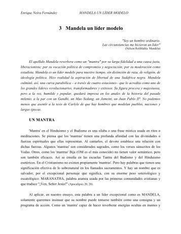 3 Mandela un líder modelo - Saber ULA - Universidad de Los Andes