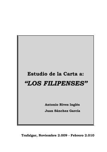 """""""LOS FILIPENSES"""" - Iglesia Evangélica de Trafalgar"""