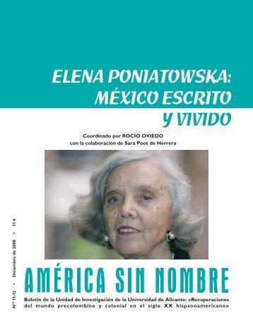 Elena Poniatowska - RUA - Universidad de Alicante