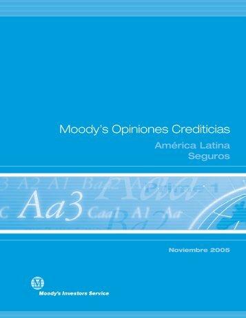 Moody's Opiniones Crediticias