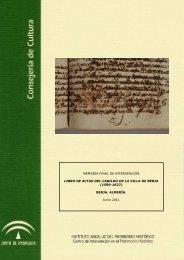 Informe final - IAPH. Instituto Andaluz del Patrimonio Historico