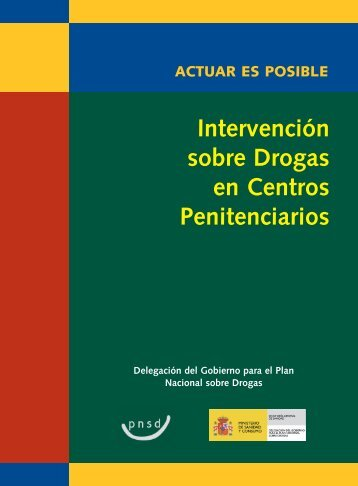 Intervención sobre Drogas en Centros Penitenciarios