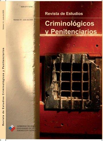 Revista de Estudios Criminológicos y Penitenciarios - Gendarmería ...