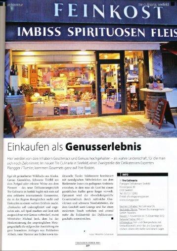 Magazin Tirolerin - Plangger Delikatessen