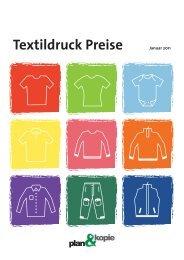 Textildruck Preise - Plan & Kopie