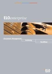 ELOenterprise Broschüre - ELO Digital Office GmbH