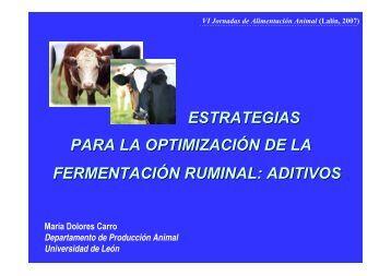 estrategias para la optimización de la fermentación ... - Mouriscade