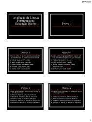 A Língua Portuguesa na Educação Básica - Ronaldo Martins