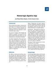 13. Hemorragia digestiva baja - Asociación Española de Pediatría