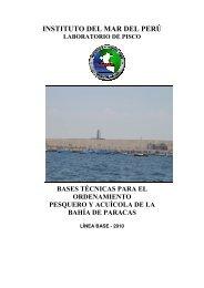 Bases Técnicas para el Ordenamiento Pesquero - Ministerio de la ...