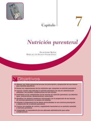 Nutrición parenteral - Axon