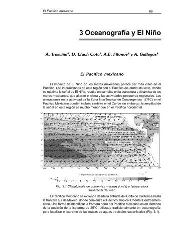 3 Oceanografía y El Niño - Centro de Ciencias de la Atmósfera