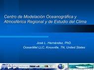 Centro de Modelación Oceanográfica y Atmosférica ... - CPPS