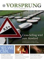 Cross-Selling wird zum Standard - PRO-DIRECT-FINANCE