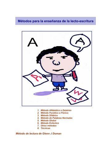Métodos para la enseñanza de la lectoescritura